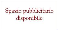 Spazio Pubblicitario Disponibile