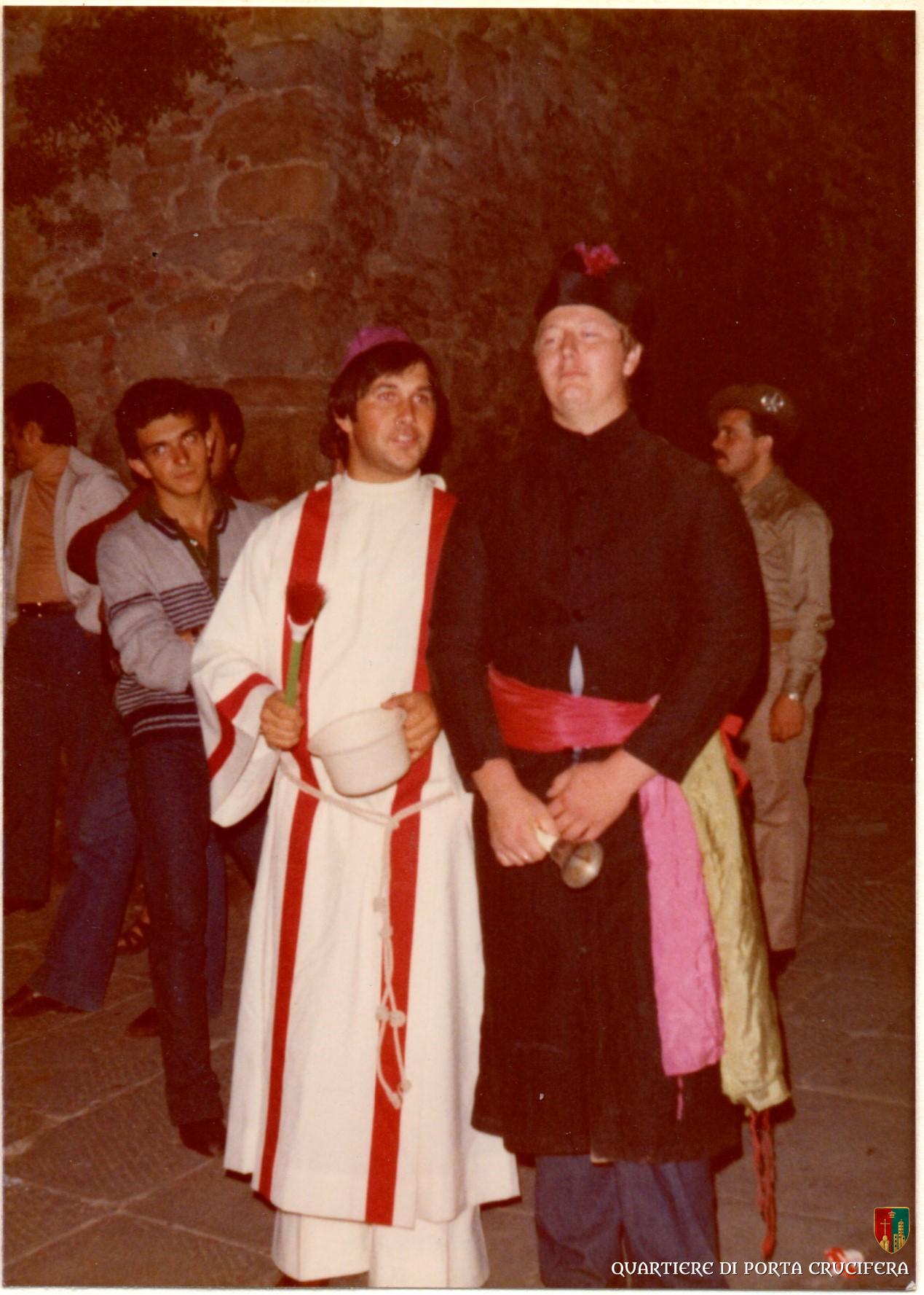 04 - 1980 - Funerale a San Spirito - Renato Brunetti e Paolo Bulletti detto Canoa
