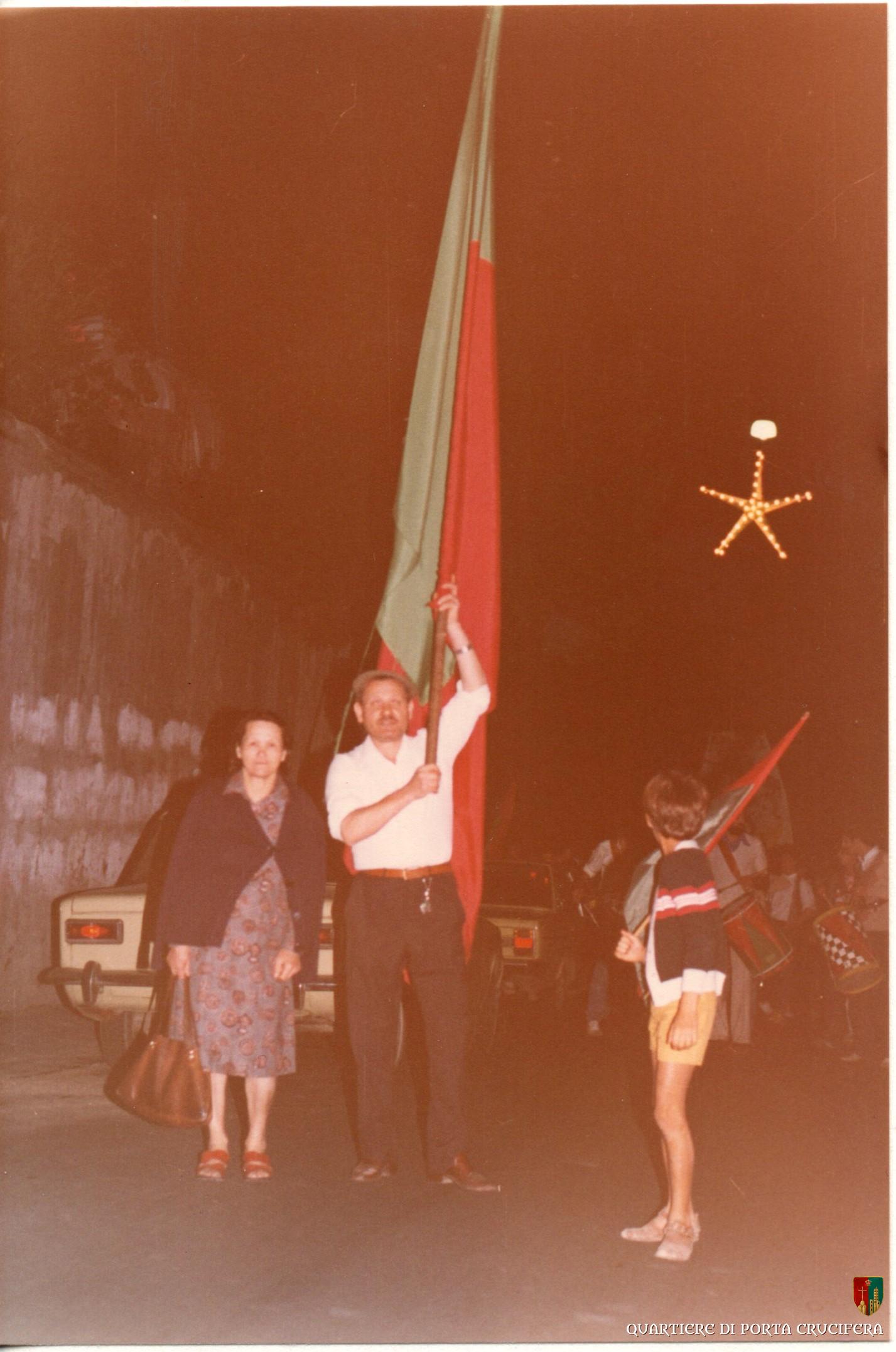 08 - 1980 - Festa Cappotto - Alvaro Scortecci detto Buricco e signora