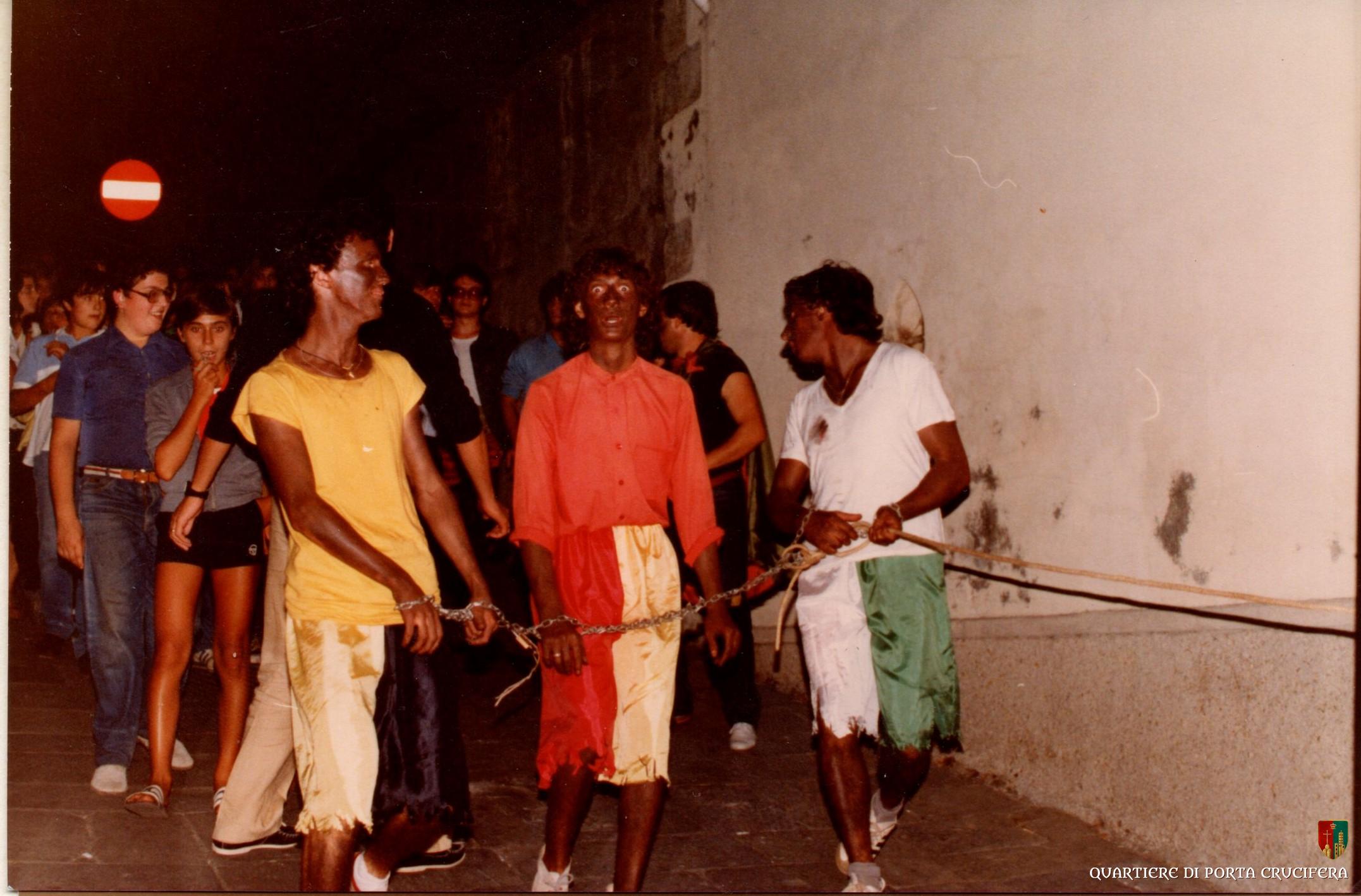 09 - 1980 - Festa vittoria - Massimo Lapi al centro - Francoia Mario - Paolo Ciuppani