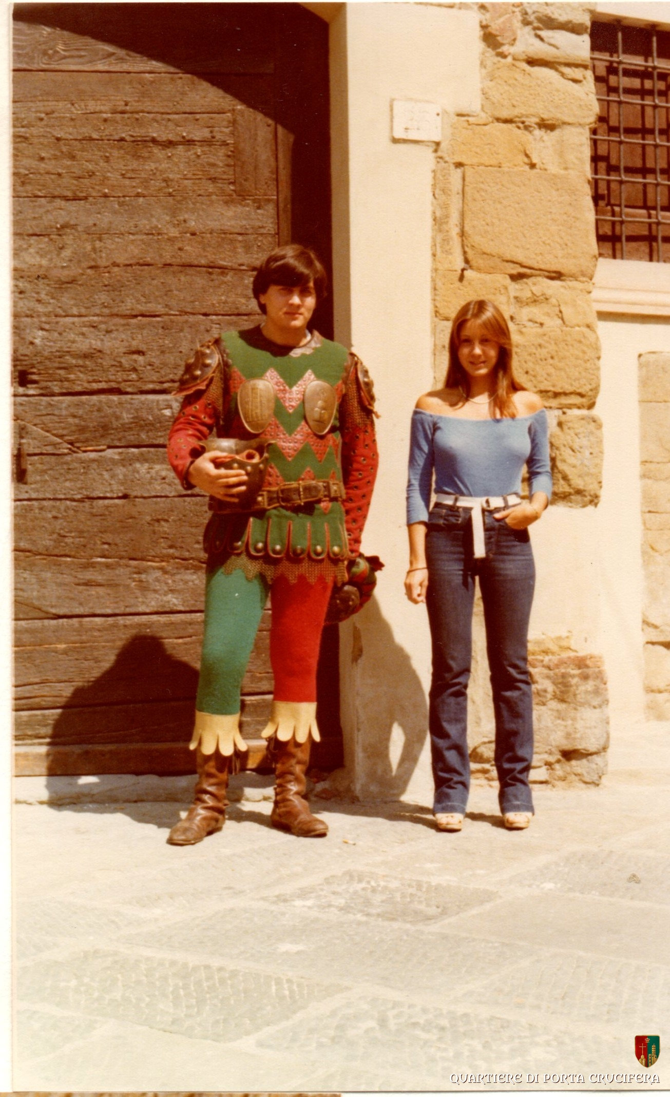 11 - primi anni 80 - Pre Giostra - Rossi e Franca Peruzzi