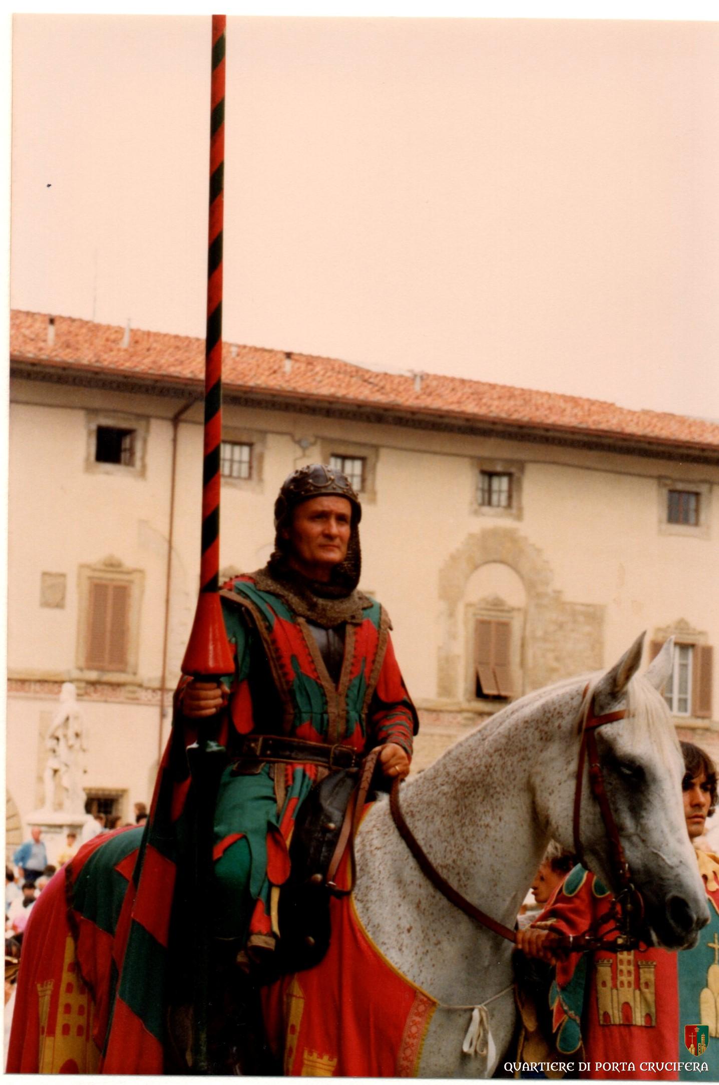 45 - 1982 - Capitan Luigi Pelini - palafraniere Enrico Stendardi -