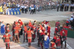 Giostra in Piazza Grande
