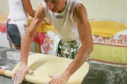 Preparazione 60a Cena del Maccherone martedi 29