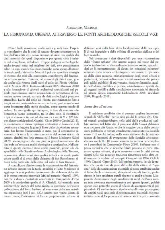 Arezzo Medievale - A. Molinari