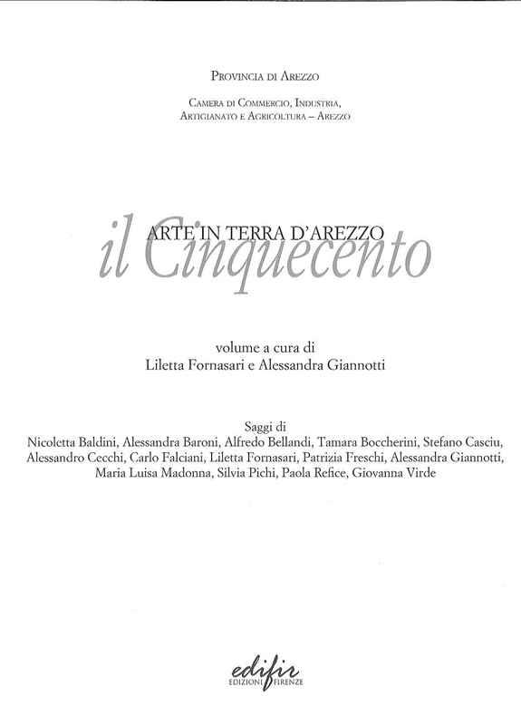 Arte in terra di Arezzo nel cinquecento