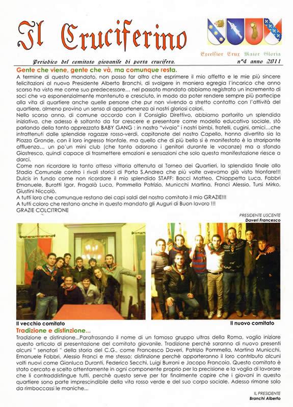 IL CRUCIFERINO - Anno 03 - n. 01 - giugno 2011