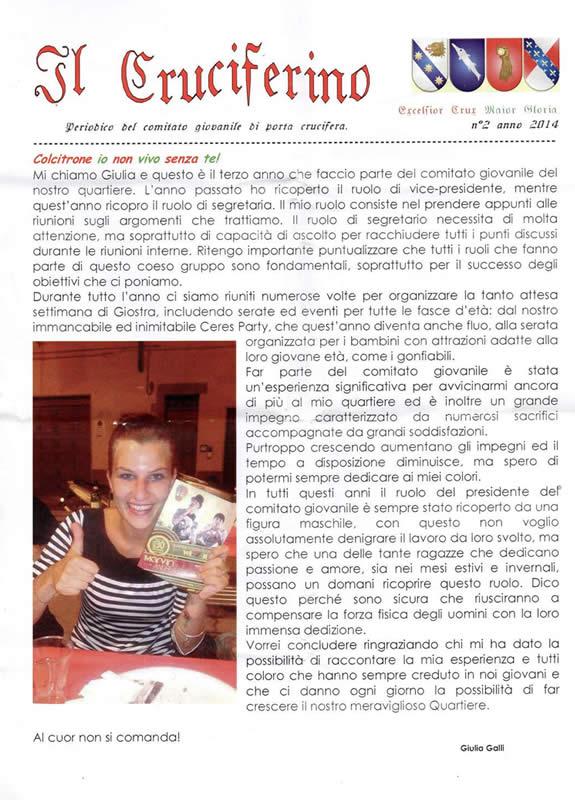 IL CRUCIFERINO - Anno 05 - n. 02 - giugno 2014
