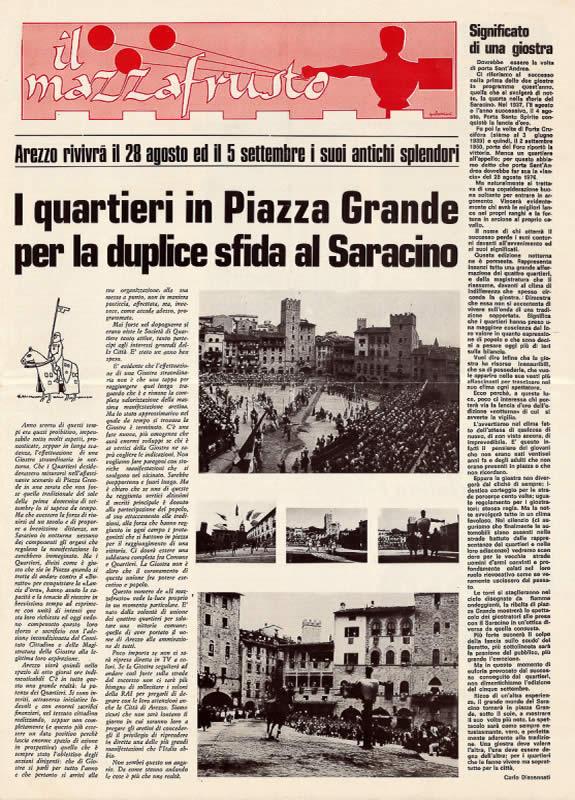 IL MAZZAFRUSTO - Anno 00 - Numero Unico - 1976