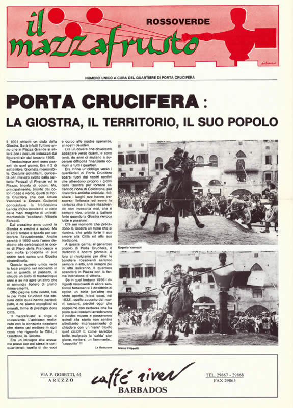 IL MAZZAFRUSTO - Anno 00 - Numero Unico - 1991