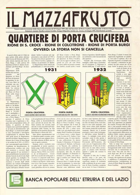 IL MAZZAFRUSTO - Anno 00 - Numero Unico - 1995