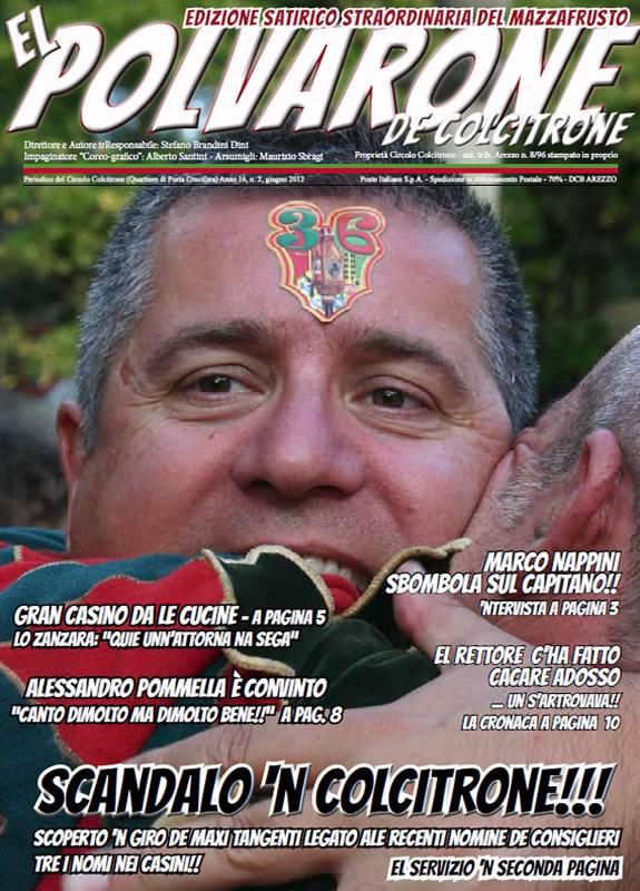 IL MAZZAFRUSTO - Anno 16 - n. 02 - IL POLVARONE giugno 2012