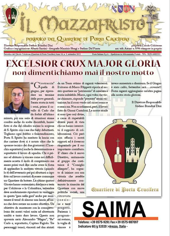 IL MAZZAFRUSTO - Anno 16 - n. 03 - settembre 2012