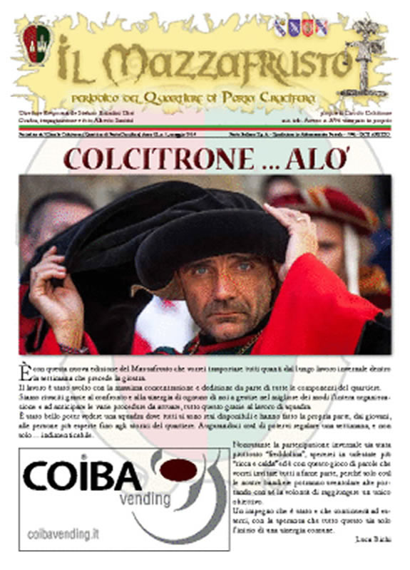 IL MAZZAFRUSTO - Anno 18 - n. 01 - giugno 2014