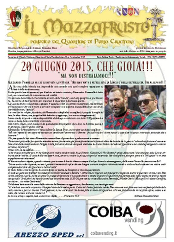 IL MAZZAFRUSTO - Anno 19 - n. 02 - settembre 2015