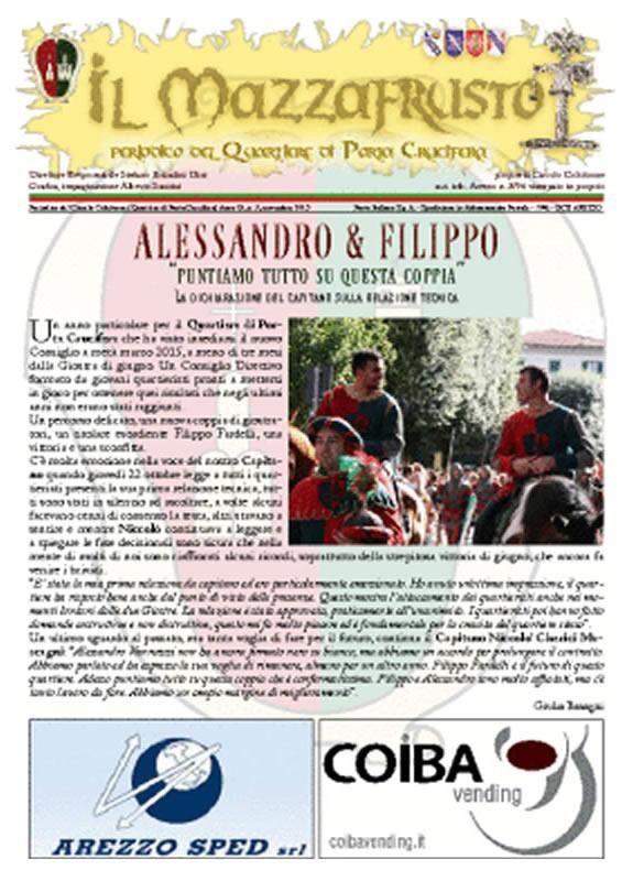 IL MAZZAFRUSTO - Anno 19 - n. 03 - novembre 2015