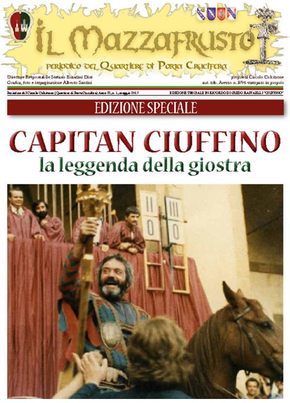 IL MAZZAFRUSTO - Anno 22 - n. 01 - maggio 2017 edizione speciale Ciuffino