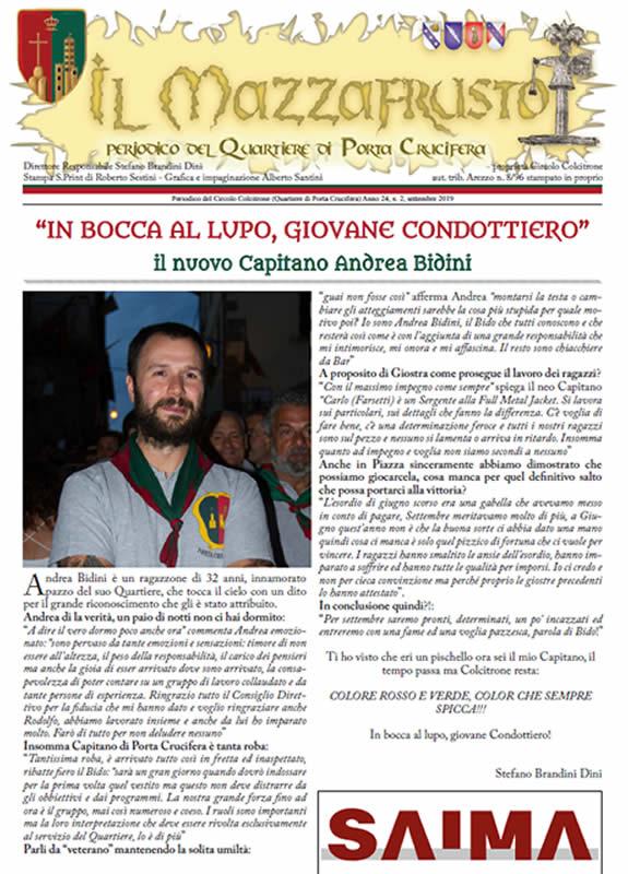 IL MAZZAFRUSTO - Anno 24 - n. 02 - settembre 2019