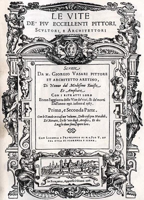 Le vite de piu eccellenti pittori scultori e architetti - G. Vasari