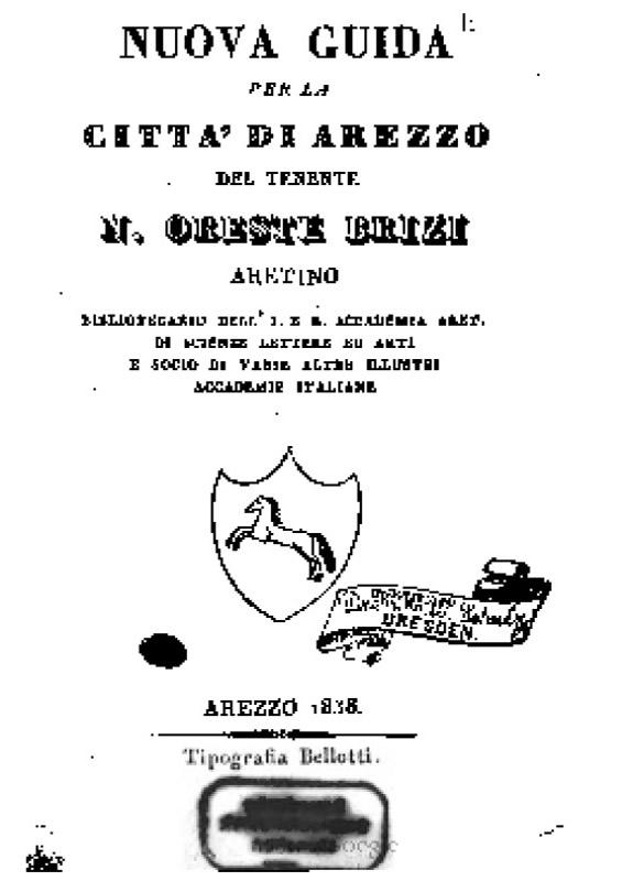 Nuova guida per la citta di Arezzo - O. Brizi